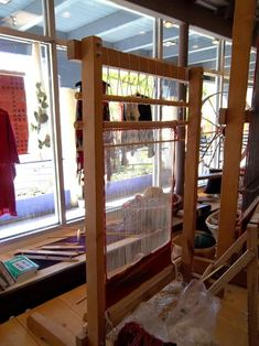Build A Navajo Loom | ... great time and the artist now wants to make me an upright navajo loom