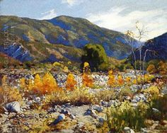 Arroyo Seco 1920 By Alson Skinner Clark Replica Paintings on Canvas - Reproduction Gallery