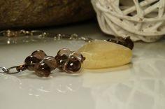 Artsy Autumn Quartz & Chalcedony Bracelet
