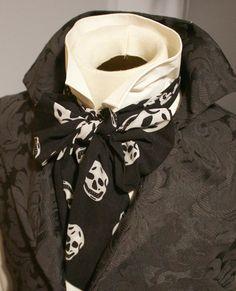 REGENCY Brummel Victorian Ascot Tie Cravat  Cotton by elegantascot