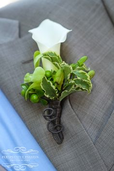 Perspective Passion Photography - boutonniere