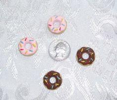 Barbie Kitchen Food Lot of 4 Donuts Doughnuts 1 6 Littles | eBay