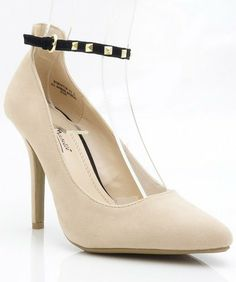 Anne Michelle Momentum-03 Pointy Toe Studded Ankle Strap Pump NUDE (8) Anne Michelle,http://www.amazon.com/dp/B00DQAHUSG/ref=cm_sw_r_pi_dp_Q0Qcsb14RT28MTMM