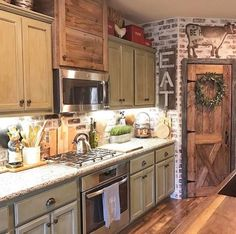 Love this kitchen!  @decorsteals