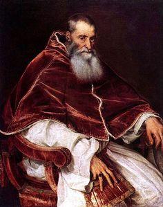 Pope Paul III by Titian - see blog under Art & Music at medmeanderings.com