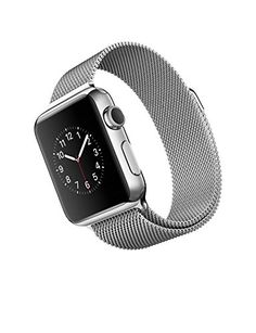 Buy Apple Watch (38MM) Stainless Steel Case with Milanese Loop REFURBISHED for 324.5 USD | Reusell