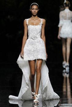 unique wedding dress by pronovias