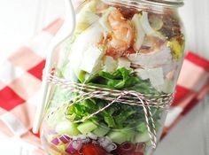 30 Mason Jar Foods and Recipe Ideas | Food Crafts | via putitinajar.com