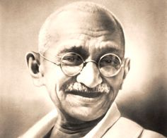 """Mahatma Gandhi  Born: October 2, 1869  Martyrdom: January 30, 1948.  Achievements: Known as Father of Nation; played a key role in winning freedom for India;  Paying tribute to Mahatma Gandhi on his death, famous scientist Albert Einstein said, """"Generations to come will scarce believe that such a man as this walked the earth in flesh and blood""""."""