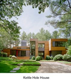 KETTLE HOLE HOUSE  East Hampton, New York                                                         PRINCIPAL-IN-CHARGE: Robert Young, AIA; PROJECT ARCHITECT: Kiyomi Troemner; PROJECT TEAM: Mara Indra, Marlene Toerper and Shea Murdock. INTERIOR...