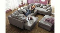 Jetzt Home affaire Wohnlandschaft, auch mit Bettfunktion günstig im cnouch Online Shop bestellen