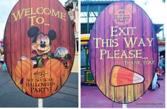 Walt Disney World's Mickey's Not So Scary Halloween Party Open Attraction List Posted - Disney Dining Information Disney 2017, Disney Love, Disney Mickey, Walt Disney, Disney Parks, Disney Bound, Disney Stuff, Mickey Mouse, Disney Halloween