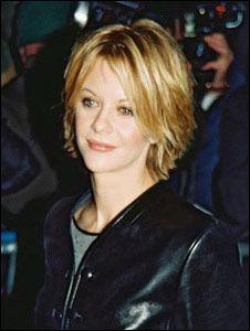 Flirty Short Hairstyle with Meg Ryan