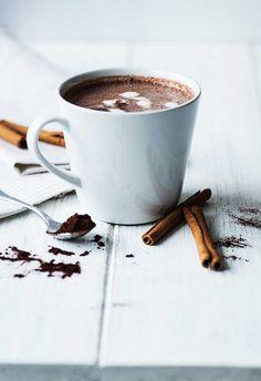 ... cinnamon hot white chocolate ...