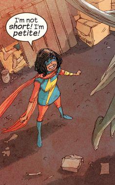 Ms. Marvel Vol 3 #17 (2015)    //  Marvel Comics Story: G. Willow Wilson, art: Adrian Alphona