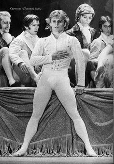 Mikhail Baryshnikov in Roland Petit's 'The Queen of Spades'