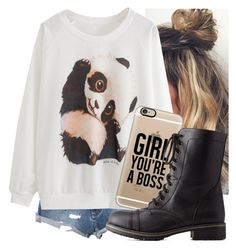 """Untitled #5676"" by carmellahowyoudoin ❤ liked on Polyvore featuring RVCA, Casetify and Charlotte Russe"