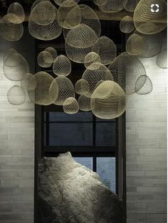 06 Chongqing Yunhui (Cloud-Gathering) Clubhouse - Beijing News Days Deco Luminaire, Hospitality Design, Living Room Lighting, Room Lights, Commercial Design, Home Decor Trends, Ceiling Design, My New Room, Retail Design