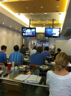 Cook and watch on TV at the same time at Culinaerie