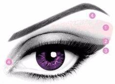 Как правильно создать макияж глаз.