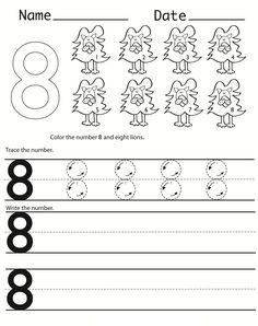 number 7 worksheets for preschools alphabet and numbers learning pinterest worksheets. Black Bedroom Furniture Sets. Home Design Ideas