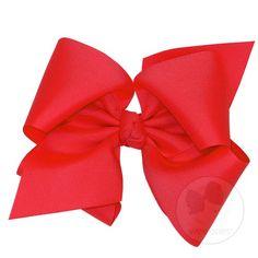 Huge Classic Grosgrain Hair Bow (Knot Wrap) $12.00 #bows #hair