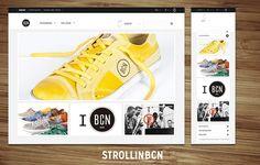 Strollin BCN para BCN BRAND http://www.roundedbold.com/project/strollin-bcn/