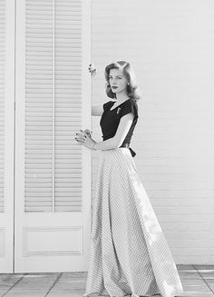"becketts: """"Lauren Bacall, 1945 "" """