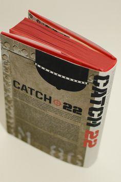 Catch 22 Book Jacket by Karsten Barnett, via Behance