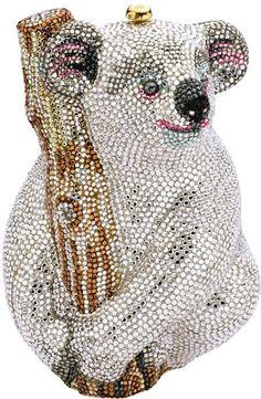 59016: Austrian Crystal, Koala Handbag, Judith Leiber : Lot 59016
