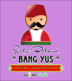 Soto Betawi Bang Yus Logo by syihab