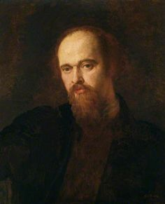 Dante Gabriel Rossetti, 1870-1871 by G F Watts. Rossetti was a frequent visitor to L. H. House. A close friend of Valentine Cameron Prinsep, son of Henry T. Prinsep and Sara Pattle.