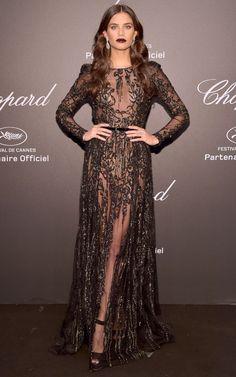 Best Dressed Stars on Cannes Red Carpet 2017 - Sara Sampaio