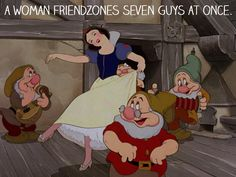 The condensed plot of Snow White. | 25 Mansplanations Of Disney Movies