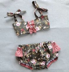 Easy-Sew Girls Bathing Suits for Summer