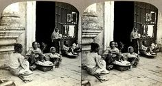 Beggars Outside a Church Door in Manila by Okinawa Soba, via Flickr