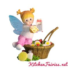 Healthy Greenery Fairie - From Series Thirty Seven of the My Little Kitchen Fairies collection