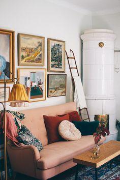 A lovely vintage home in Midsommarkransen, Sweden by Volang-Linda - Lovely Life