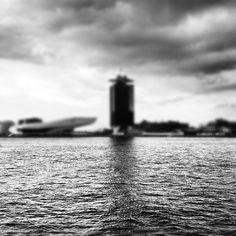 unclear horizon.  #harbour  #tnw2012 #amsterdam