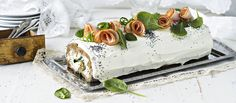 Sandwich Cake, Sandwiches, Tasty, Yummy Food, Butter Dish, Food Art, Appetizers, Favorite Recipes, Cooking