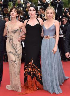 2015 Cannes Film Festival - Closing Ceremony and 'La Glace Et Le Ciel' Premiere - Sophie Marceau, Sienna Miller, and Rossy de Palma.