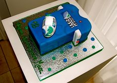 Sporty cake Rugby - Gateau D'anniversaire Sport Rugby - Verjaardagstaart Sport Rugby
