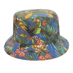 Flower Fashion, Blue Fashion, Hats For Big Heads, Travel Hat, Sun Cap, Cheap Flowers, Flower Bird, Bird Prints, Outdoor Travel