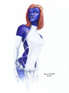 Mystique by Paolo Rivera.