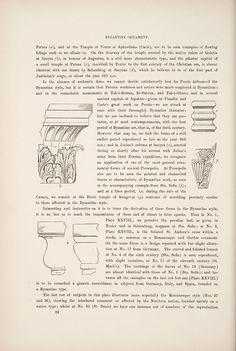 Decorative Arts: The grammar of ornament: Byzantine ornament