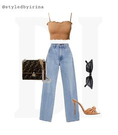 Date Outfit Casual, Date Outfits, Denim Outfit, Dress Outfits, Ootd Fashion, Teen Fashion, Fashion Outfits, Virtual Fashion, Aesthetic Clothes