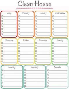 Huishoudschema, cleaning routine, heb jij dit? Kelly Caresse | Huishoudelijk: Structuur in het huishouden ?
