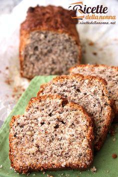Plumcake integrale con miele, yogurt e noci ricetta e foto