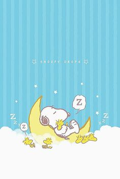 Snoopy and Woodstock sweet dreams Baby Snoopy, Snoopy Love, Snoopy And Woodstock, Snoopy Wallpaper, Cartoon Wallpaper, Iphone Wallpaper, Snoopy Images, Snoopy Pictures, Peanuts Cartoon