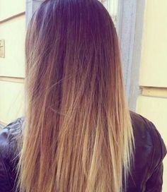 Ombre hair. Mine would look 95% like this if I decided to do it